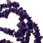 Сколы Фиолетовые Мелкие, Размер от 4 до 9 мм, Бусины Натуральный Камень, Рукоделие, фото 2