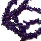 Сколы Фиолетовые Мелкие, Размер от 4 до 9 мм, Бусины Натуральный Камень, Рукоделие, фото 3