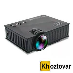 Мультимедийный портативный проектор Unic UC-68 Wi-Fi