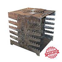 Раскладная походная кухня гриль мангал из металла, переносной складной, Подарки для активного отдыха