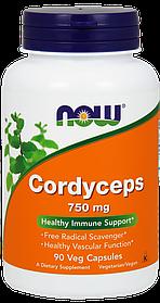 Now Foods Cordyceps Кордицепс 750mg (90Caps)