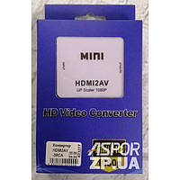 (DL UA) Переходник HDMI 2AV/3RCA
