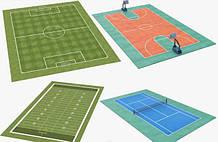 Спортивные и детские площадки