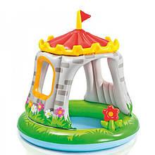 Детский бассейн королевский замок INTEX 57122, 122-122см