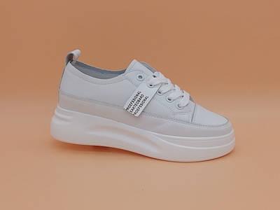 Белые кроссовки. Маленькие размеры ( 33 - 35 ).