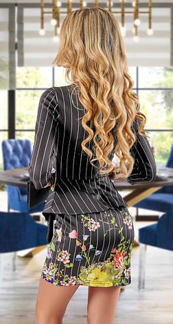 Красиве молодіжне сукні з басками, фото 2