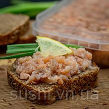 Закуска з філе лосося в олії 300 г