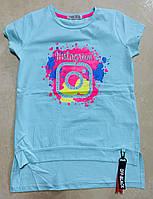 Подростковая футболка для девочки Instagram размер 8-14 лет, цвет уточняйте при заказе, фото 1