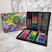 Набор для детского творчества в чемодане из 150 предметов Чемодан творчества , Подарок ребенку, девочке!