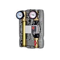 Насосная группа для твердотопливных котлов и систем отопления BRV 22355 (L) без смесителя, 2 линии