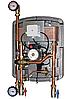 Насосная группа BRV ModvFresh 1 031100-50-20-SE для систем ГВС с термостат. управл. и термометром