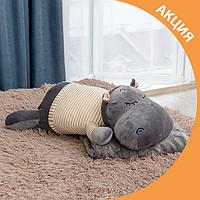 ✨ Бегемот трансформер іграшка плед, подушка 3 в 1 ✨, фото 1