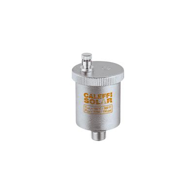 Автоматический воздухоотводчик Caleffi Solar 3/8 M+ кран 3/8, давление сбр.5/раб.10бар