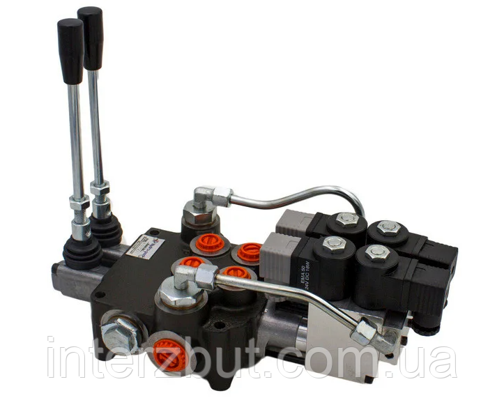 Гідророзподільник електромагнітний з механічним дублюванням Badestnost P80EHOR12/24V Болгарія