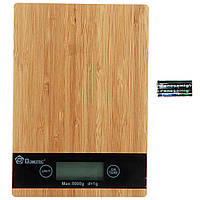 Весы кухонные электронные настольные Domotec до 5 кг для кухни