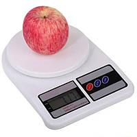Весы кухонные электронные настольные DT до 10 кг для кухни