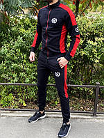 Спортивный костюм Miracle Triangle черно-красный