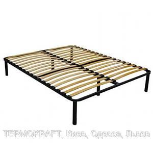 Ортопедический каркас кровати с ламелями 1900*1600мм. АНТ, S- 6,5 см, 30 ламели