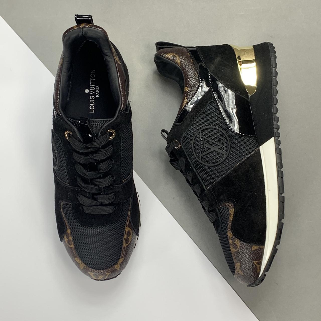 Женские кроссовки Louis Vuitton Run Away (Луи Виттон Ран Эвей) арт. 105-01