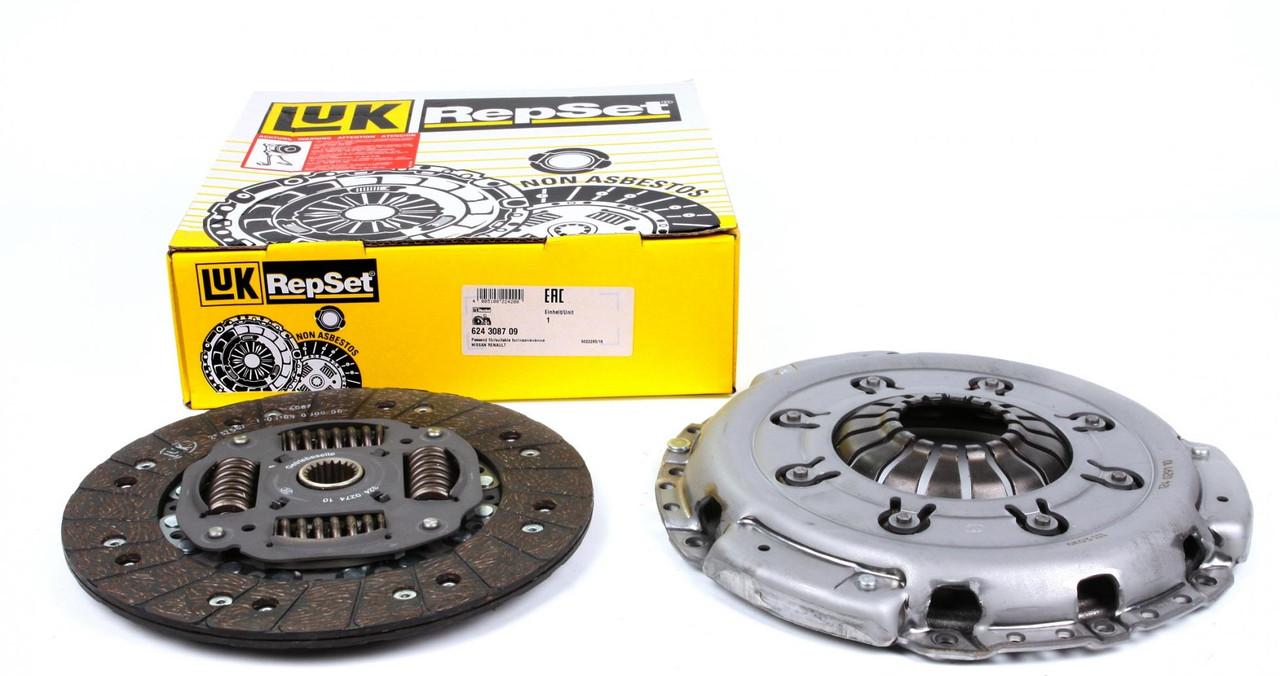 Комплект сцепления (корзина + диск) Renault Trafic  / Opel Vivaro 1.9dCi 01-03  LuK (Германия) 624308709