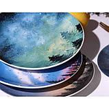 Керамічна тарілка зоряне небо 20 см, фото 3