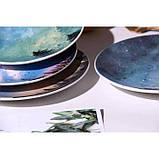 Керамічна тарілка зоряне небо 20 см, фото 5
