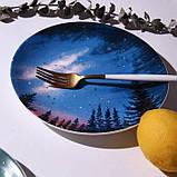 Керамічна тарілка зоряне небо 20 см, фото 8
