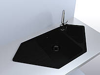 Кухонная мойка MIRAGGIO Tirrion (Black)