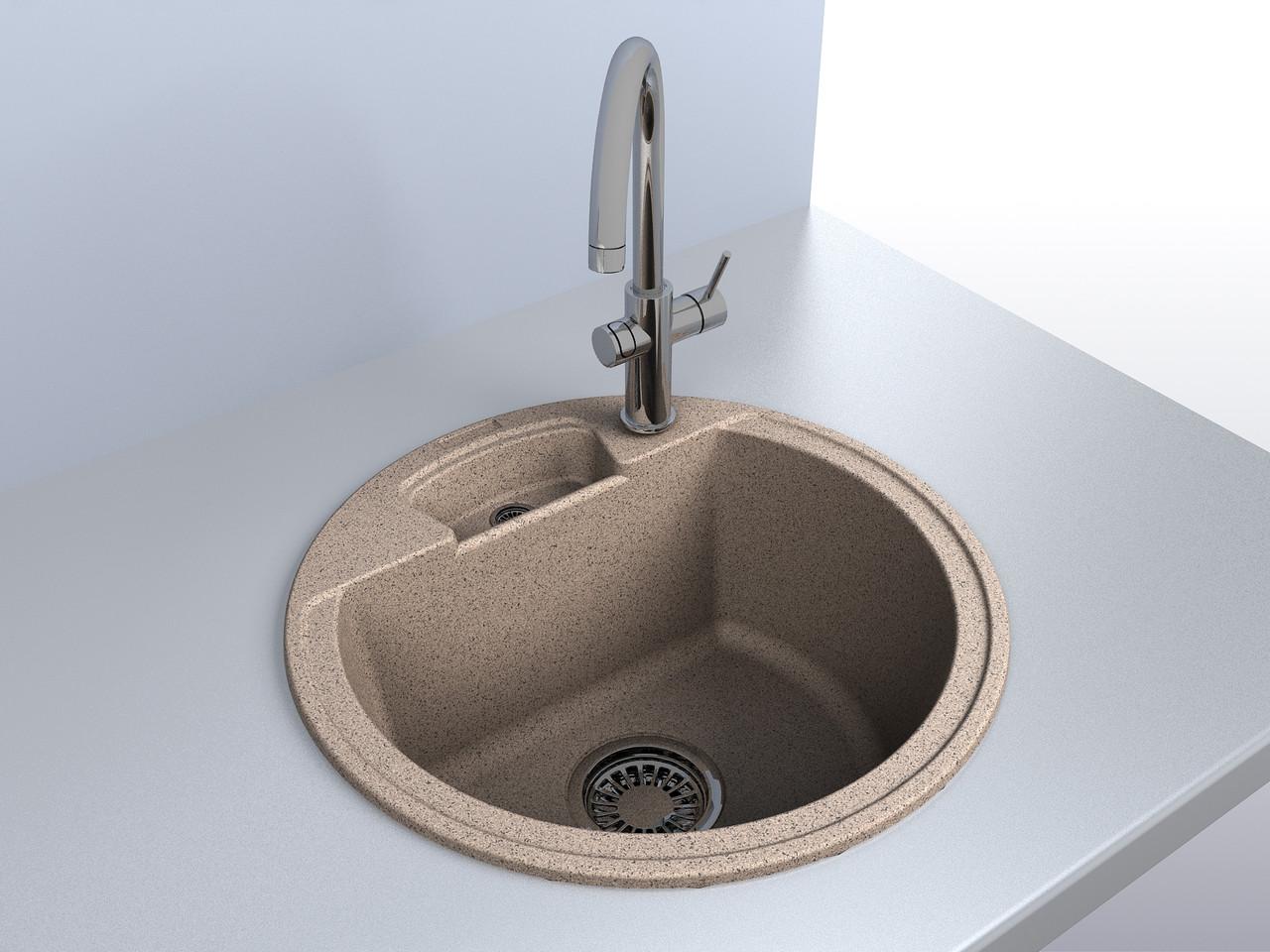 Кухонна мийка MIRAGGIO Valencia (Terra)