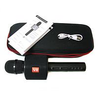 Беспроводной Bluetooth микрофон-караоке HLV V8 в чехле Black