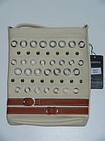 Небольшая сумка наплечная из эко-кожи 4 цвета Alistun 67