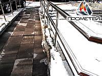 Огорожі пандуса з нержавіючої сталі AISI 201, поручень Ø42 мм, стійка Ø42 мм, Жовква, фото 1