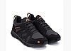 Мужские кожаные кроссовки MERRELL black черные