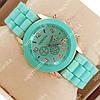 Модные наручные часы Geneva Turquoise 1005
