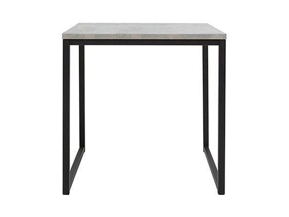 Журнальный столик LAW/40 AROZ BRW светло-серый/черный