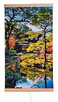 Электрический инфракрасный настенный обогреватель-картина Trio Сад Киото 400 Вт 100x57 см