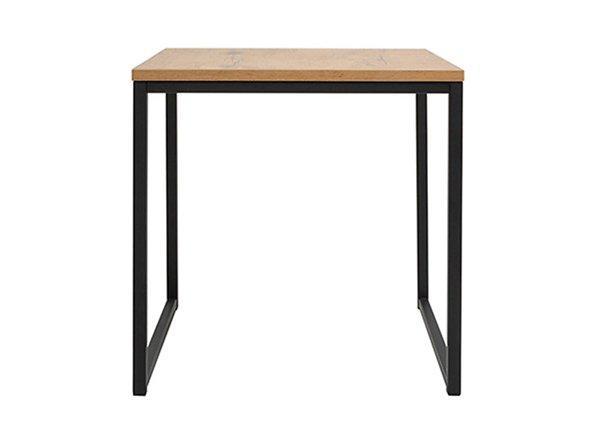Журнальний столик LAW/50 AROZ BRW дуб ланцелот/чорний