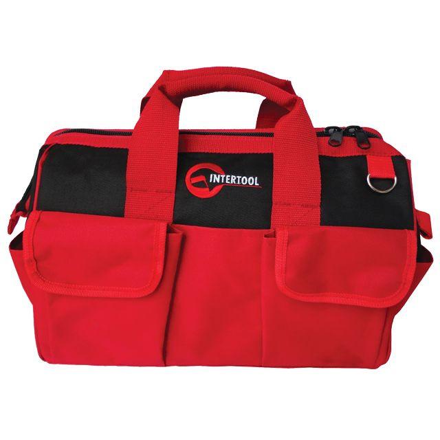 Сумка для инструментов INTERTOOL BX-9005 - 16 карманов 405мм*230мм*300мм