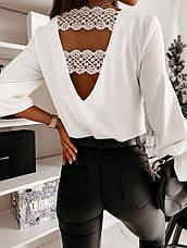 Блузка с кружевом, фото 3