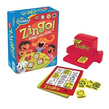 Зинго Дитяча настільна гра Thіnkfun США