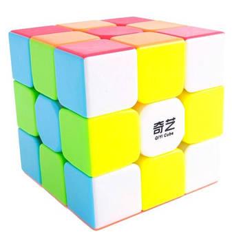 QiYi Warrior W 3x3 stickerless | Кубик 3х3 без наклейок