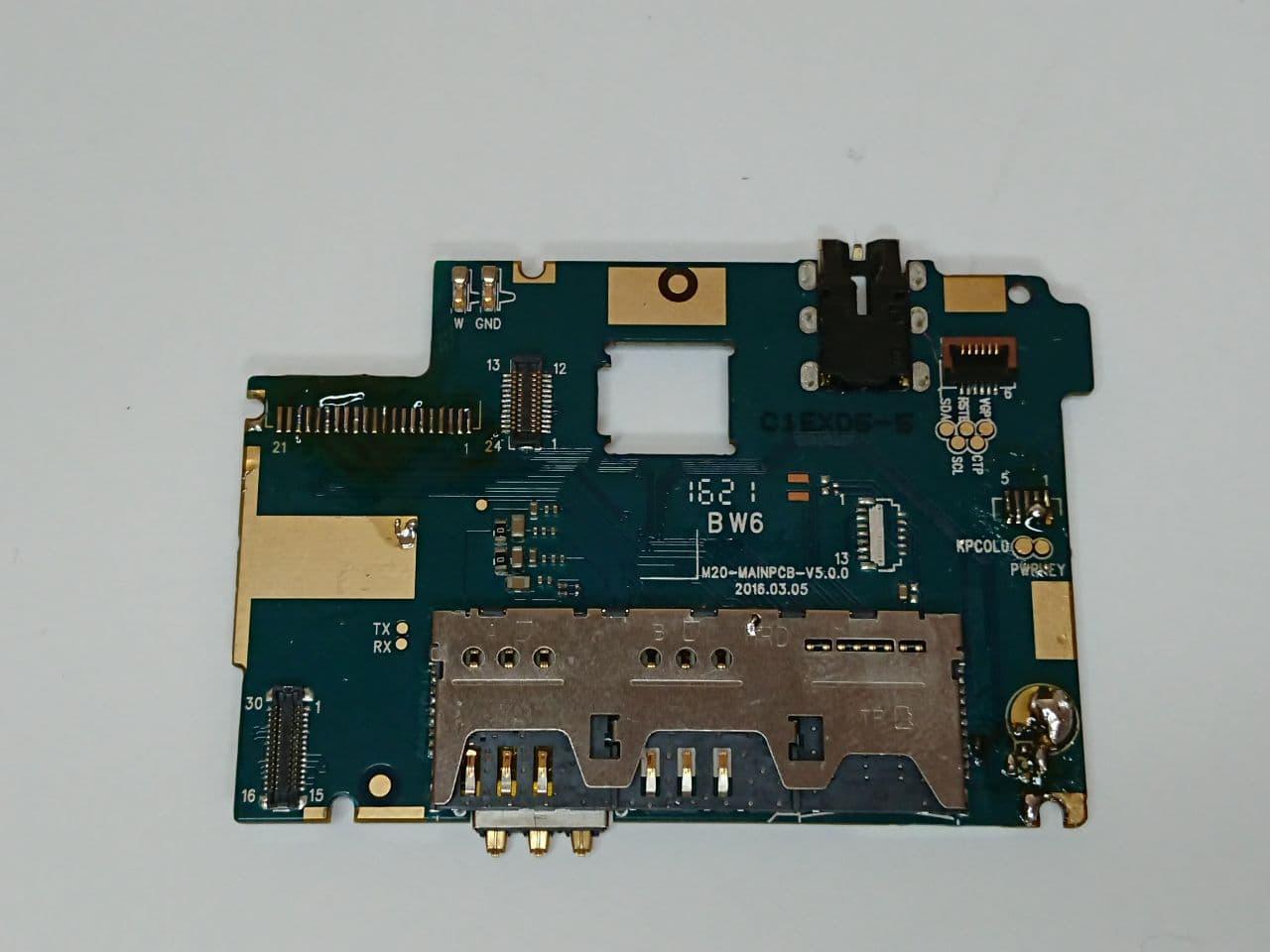 Материнська плата  Ergo A550 Maxxу умовно-працюючая оригінал б.у.