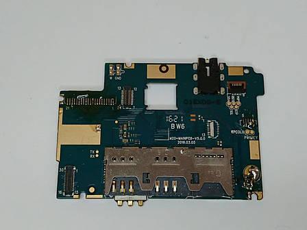 Материнська плата  Ergo A550 Maxxу умовно-працюючая оригінал б.у., фото 2