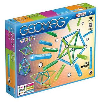 Магнітний конструктор Геомаг Color 35 деталей