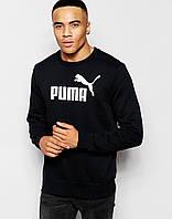 Черный свитшот с логотипом Puma