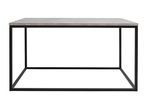 Журнальный столик LAW/100 AROZ BRW светло-серый/черный