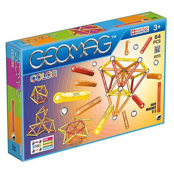 Магнітний конструктор Геомаг Color 64 деталі