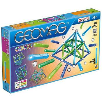 Магнітний конструктор Геомаг Color 91 деталь