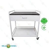 Стол для инструментов (медицинский инструментальный стол) манипуляционный СТ-М-Н MEDNOVA