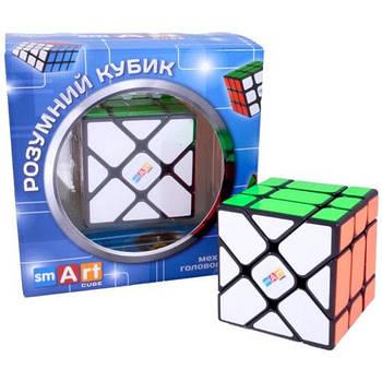 Головоломка Розумний Кубик Фішер 3х3 чорний